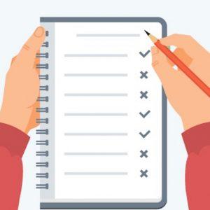 Checklist Header