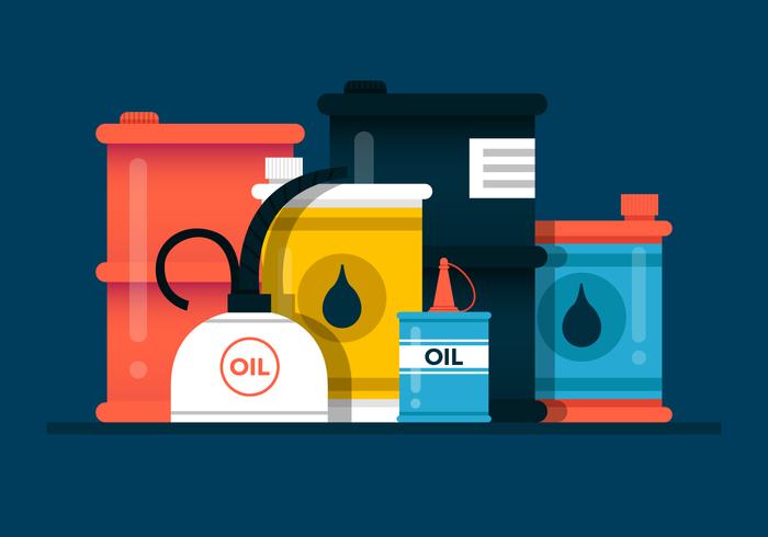 Oil Can Vector