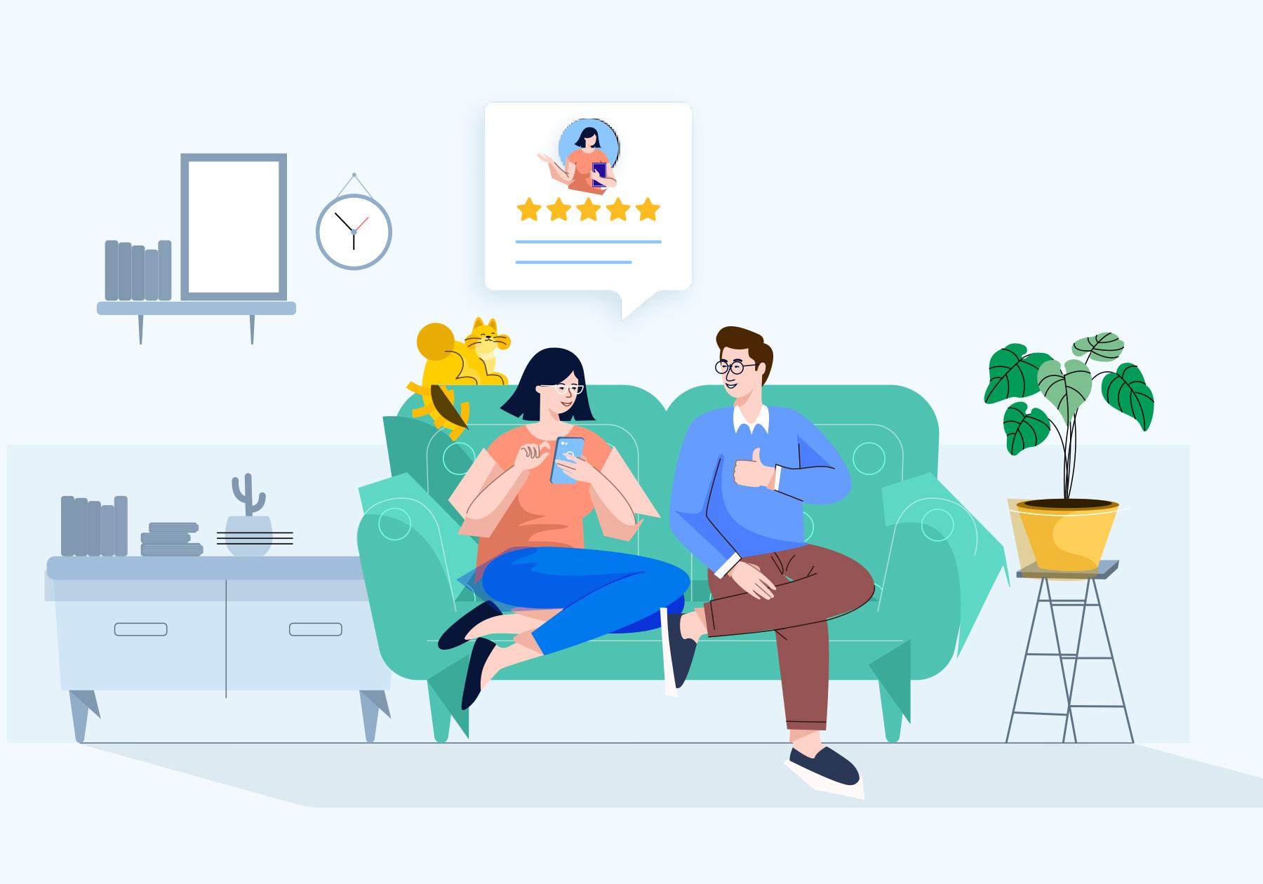 Customer Reviews Multi Location